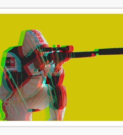 Supreme X North Face X Sniper  Sticker