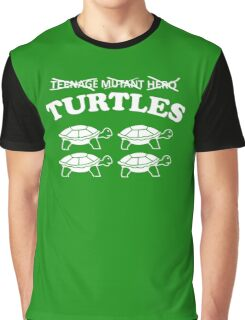 Turtles Heroes Graphic T-Shirt