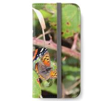 Red Admiral and Small Copper iPhone Wallet/Case/Skin