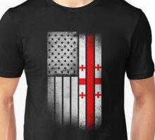 USA Vintage Georgia State Flag Unisex T-Shirt