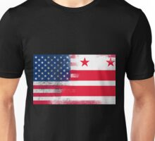 District of Columbia Flag Unisex T-Shirt
