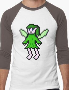 Green Fairy Men's Baseball ¾ T-Shirt