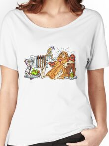 Captain Caveman was drunk Women's Relaxed Fit T-Shirt