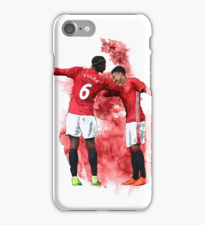 Pogba and Lingard - Dab iPhone Case/Skin
