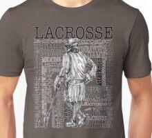 Word Montage LACROSSE (Male-border) Unisex T-Shirt