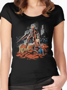 ARMY OF GHOULS Women's Fitted Scoop T-Shirt