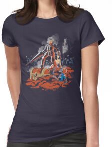 ARMY OF GHOULS Womens Fitted T-Shirt