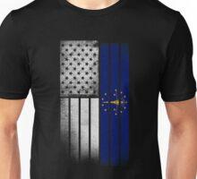 USA Vintage Indiana State Flag Unisex T-Shirt