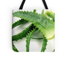 Aloe vera, with thick leaves with soothing mucilaginous juice Tote Bag