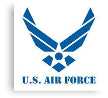 U.S Air Force (blue) Canvas Print