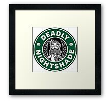 Deadly Nightshade Framed Print