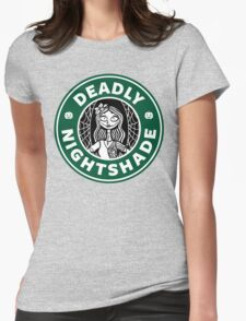 Deadly Nightshade Womens Fitted T-Shirt