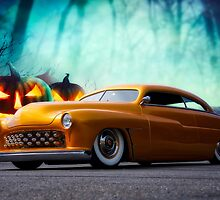 1950 Mercury 'Spooky' Custom Coupe by DaveKoontz