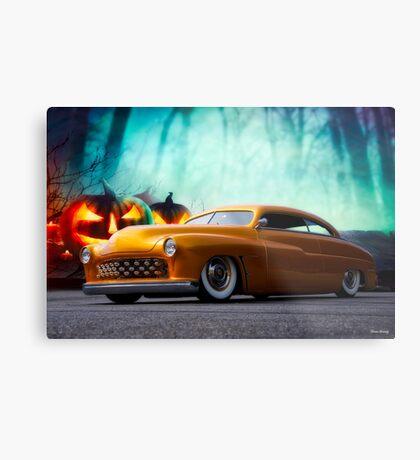 1950 Mercury 'Spooky' Custom Coupe Metal Print
