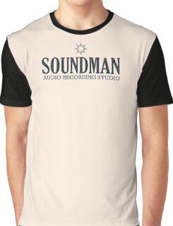 Soundman (black) Graphic T-Shirt