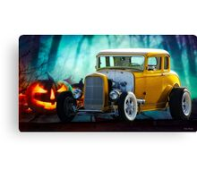 1932 Ford 'Trick or Treat' Coupe Canvas Print