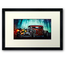 1930 Ford 'Halloween Candy' Coupe Framed Print