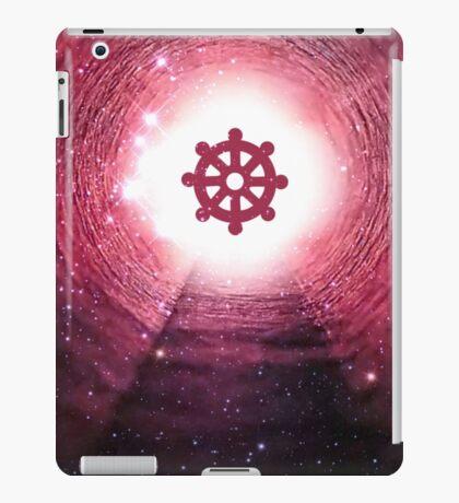 Buddhism (Wheel of Dharma) iPad Case/Skin