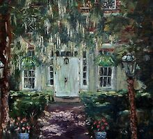 The Door to Smithville Mansion by Monica Vanzant