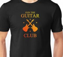 Colorful guitar club Unisex T-Shirt