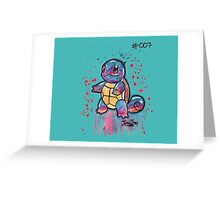 Cute Squirtle Tshirts + More! Greeting Card