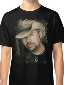 Toby Keith - Celebrity (Oil Paint Art) Classic T-Shirt