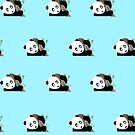 Panda in the tree (Pattern 3) by Adamzworld