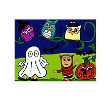 Halloween Adventure Photographic Print