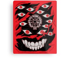 You've Activated my Alu-Card! Metal Print