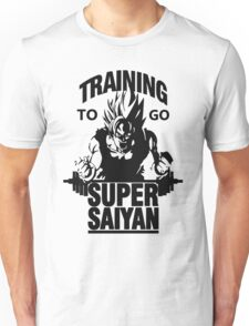 training to go super saiyan Unisex T-Shirt