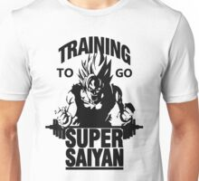 training to go super saiyan Unisex T-Shirt