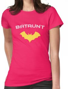 BATAUNT Super Hero Aunt  Womens Fitted T-Shirt