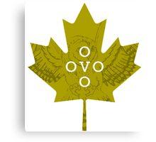 Toronto OVO Corner T Canvas Print