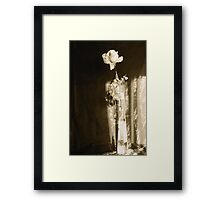 Joey with Just a Tinge of Sepia Framed Print