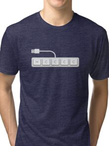 Age of Empires Keyboard Tri-blend T-Shirt