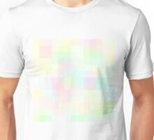 Re-Created Colored Squares No. 35 by Robert S. Lee Unisex T-Shirt