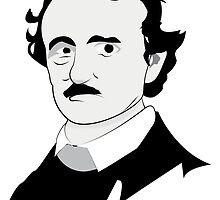 Edgar Allan Poe Illustration by Maestro Hazer