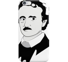 Edgar Allan Poe Illustration iPhone Case/Skin
