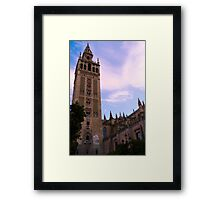 Painted in the sky  Framed Print
