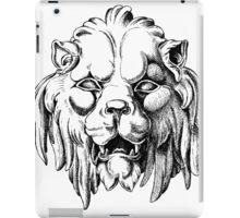 Leo mask iPad Case/Skin