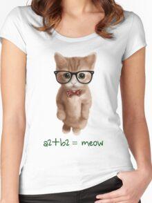 Algebra CAT Women's Fitted Scoop T-Shirt
