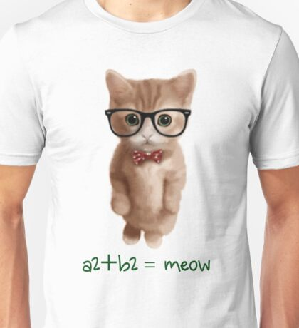 Algebra CAT Unisex T-Shirt