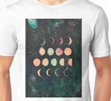 Moon Phases - Lunar Phases - Hipster Moon Phases  Unisex T-Shirt
