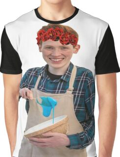 Andrew Flower Crown Graphic T-Shirt