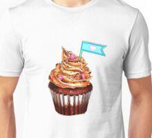 Colourful cupcake Unisex T-Shirt