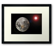 space Framed Print