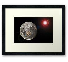 space Framed Print