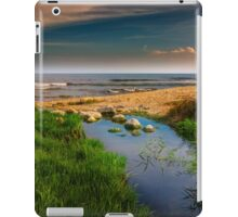 Where the river meets the sea iPad Case/Skin