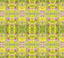 Botanical Zest Fusion Kaleidoscope by Circe Lucas