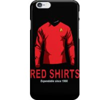Star Trek - Expendable Red Shirts iPhone Case/Skin